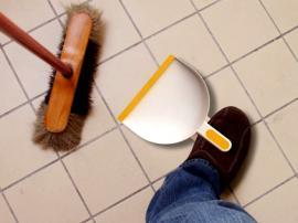 foot dustpan